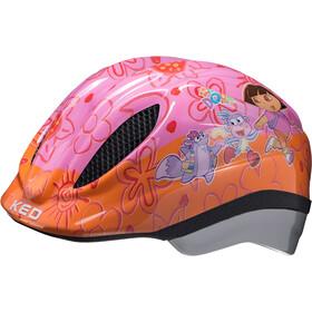 KED Meggy Originals casco per bici Bambino arancione/viola